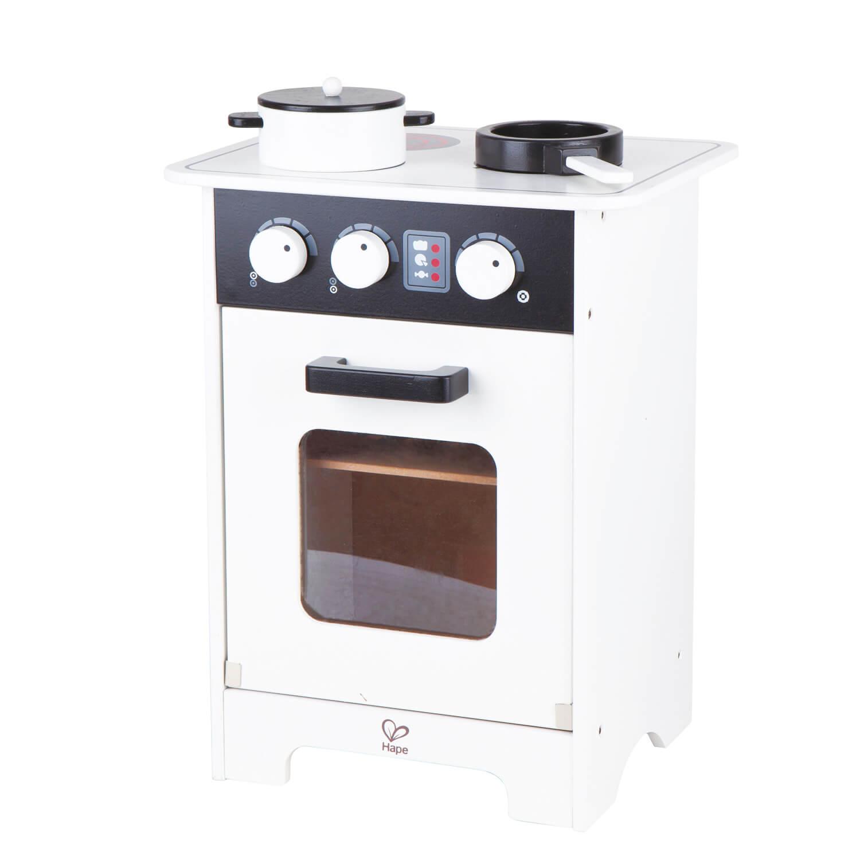 Mini Black White Gourmet Kitchen Hape